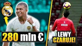 Mbappe w Realu Madryt za 280 mln €? Lewandowski czaruje na treningu!