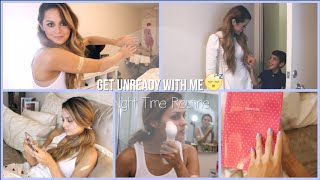 Get Unready with Me l My Night Time Routine (skincare)