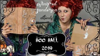 Disney Scare Package Exchange | Disney YouTube Boo Ball 2019 | Erika DeOcampo
