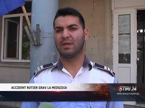 ACCIDENT RUTIER GRAV LA MEDGIDIA