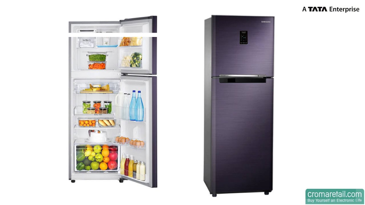 Samsung 253 L Rt27jsrzaut Frost Free Refrigerator Youtube