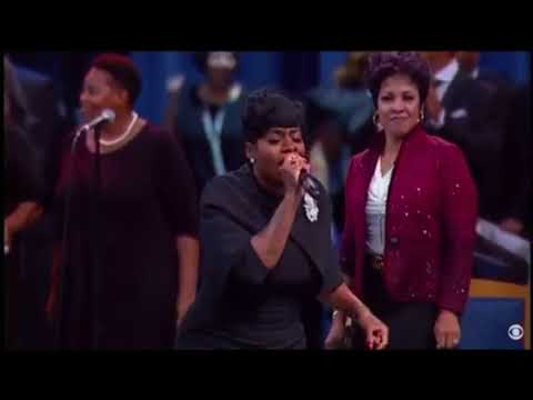 Fantasia Barrino Singing at Aretha Franklin's Funeral