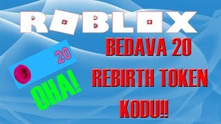 BEDAVA 20 REBIRTH TOKENİ VEREN KOD!! | Roblox Mining Simulator