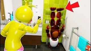 WITHERED FREDDY GETS FLUSHED! (GTA 5 Mods For Kids FNAF RedHatter)
