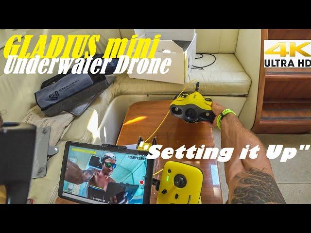 Spearfishing 🇬🇷 |🎮 Gladius Mini Underwater Drone Part 1/3⚙️Setting it Up [4Κ]✅