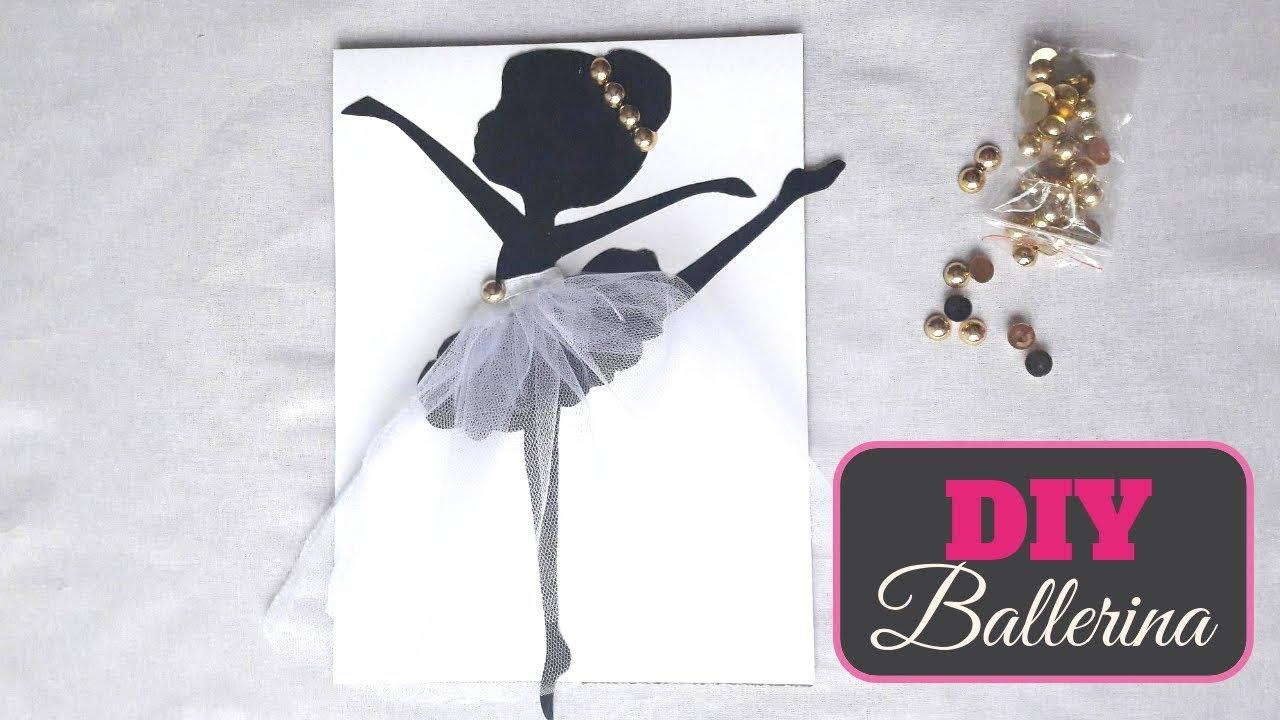 Diy Wall Decoration Ideas Diy How To Make Ballerina Wall