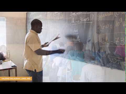 Présentation De L'atlas Interactif Sur L'éducation (Burkina Faso, Mali, Sénégal)