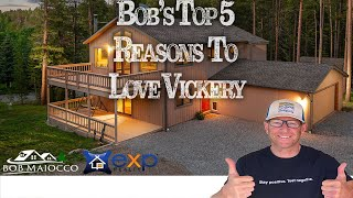 Bob's Top 5 Reasons To Love 10986 Vickery Ave in Conifer
