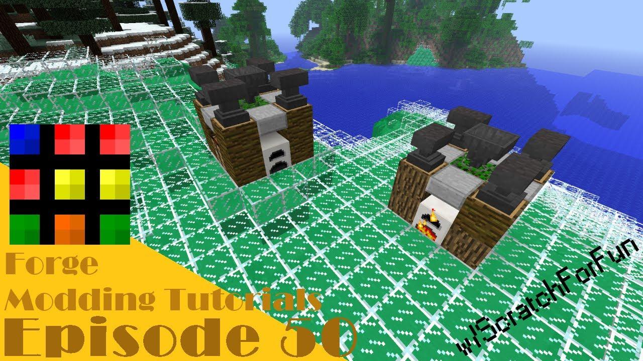 [1.6.4] Minecraft Forge Modding Tutorials! - Custom Multi ...