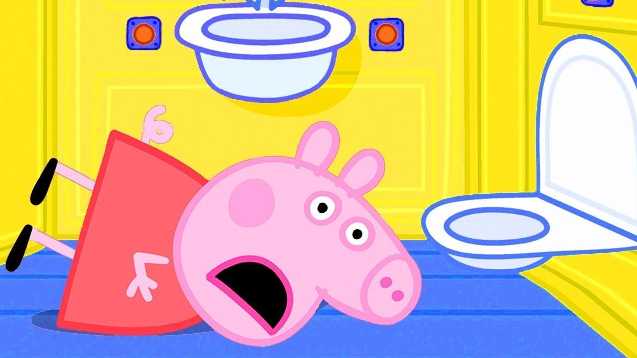 Peppa Pig Português Brasil   Peppa viaja de trem   Desenhos Animados