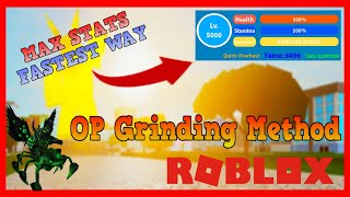 Schnellste Max Level Strategie! (Boku No Roblox : Remastered) [ROBLOX]