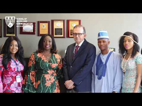 Stephanie Busari, Head CNN Bureau Nigeria/West Africa Visits PAU