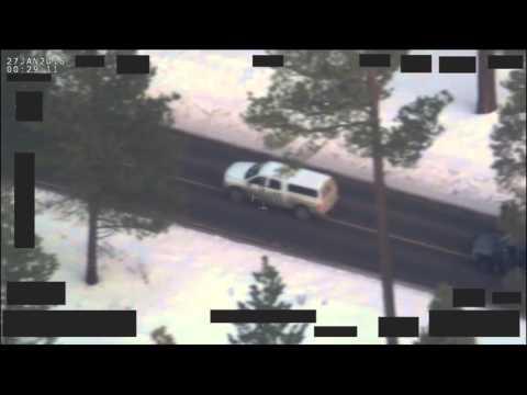 Edited Version of FBI Shooting of LaVoy  Finicum in Oregon Bundy Standoff