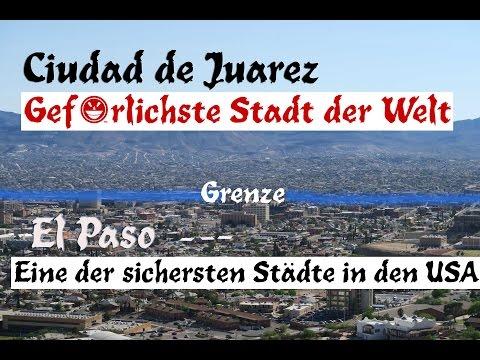 🚔 Phoenix, El Paso & daneben *Gefährlichste Stadt d. Welt 😱 Ciudad Juarez -Weltreise mit 4 Kindern