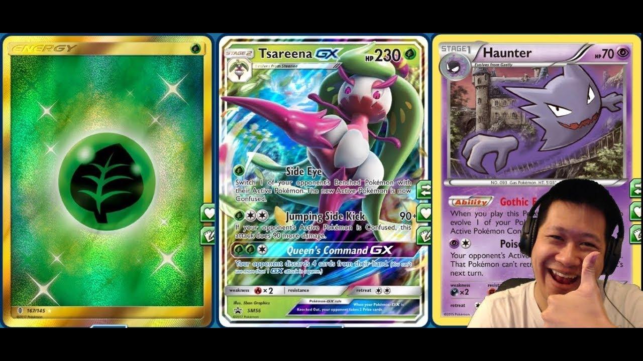 Tsareena-GX Box: Exclusive Pokemon-GX and Deck List