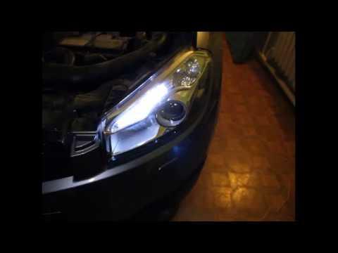 Как заменить габарит на Nissan Qashqai?! Замена габаритного огня Ниссан Кашкай #Qashqai