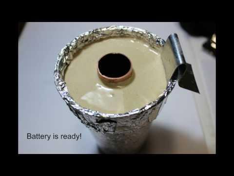 Homemade Earth Battery - Funny videos