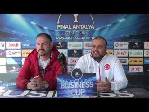 Business Cup 2016 / İstanbul / SÜHA AKBABA-HAYRİ KOÇ-EEC MAÇ SONU GÖRÜŞLERİ