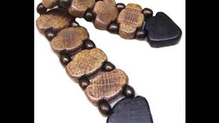 Чётки деревянные перекидные