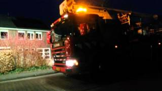 Brandweer prio 1 naar schoorsteenbrand in Dalfsen