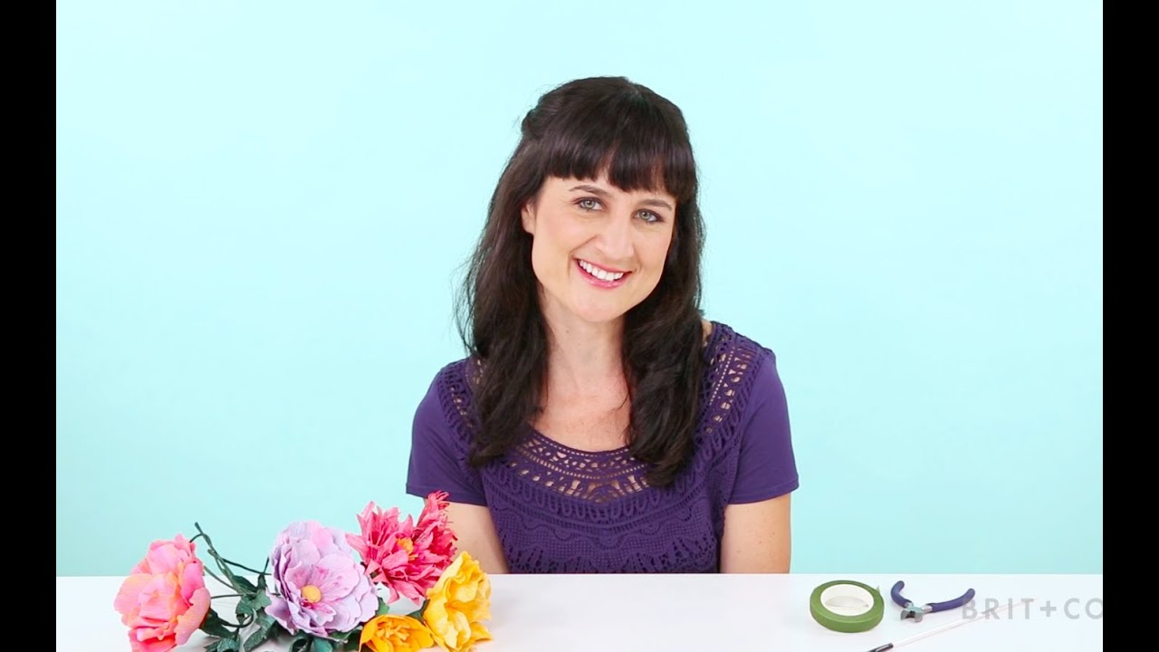 Diy paper flowers with jessica pezalla online class youtube diy paper flowers with jessica pezalla online class mightylinksfo