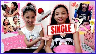 MGA GANAP TUWING VALENTINES DAY   Iba't ibang Uri Ng SINGLE!! ( Di po Motorsiklo! )   Aurea & Alexa