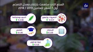 ارتفاع معدل التضخم بدعم من الخضروات خلال أول 7 أشهر من العام الحالي - (18-8-2019)