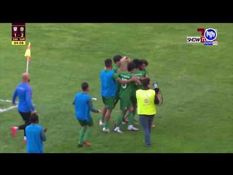 zakho vs shorta iraq league 20-4-2018 payam sport