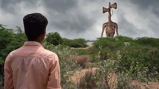 Siren Head In Real life - Horror Movie