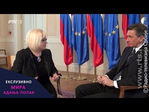 Mira Adanja-Polak: Ekskluzivno - Borut Pahor