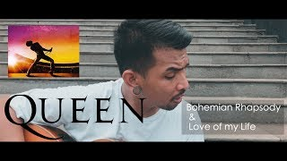Bohemian Rhapsody & Love Of My Life Medley Cover By Ijal Bulb