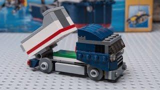 how to build LEGO CREATOR 31045 Dump truck moc! Optimus prime style
