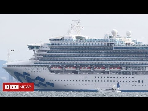 Coronavirus outbreak hits cruise ship off Japan from YouTube · Duration:  3 minutes 17 seconds