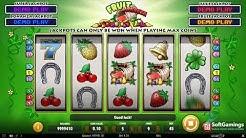 Play'n Go - Fruit Bonanza - Gameplay demo