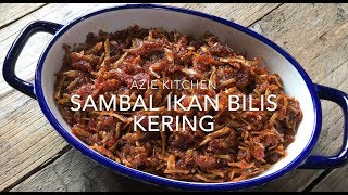 Detail recipe, please click my blog link at http://www.aziekitchen.com/2019/05/sambal-ikan-bilis-kering-sedap.html Please follow me at : Instagram aziekitchen ...