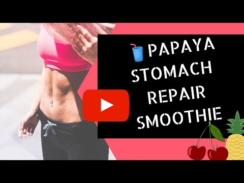 papaya-stomach-repair-smoothie-recipes-|-vegan-smoothies
