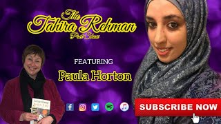 The Tahira Rehman Poet Show with Paula Horton | The power of your own words #poems #poet #poetry