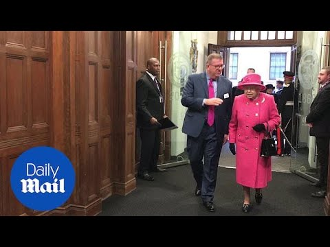The Queen visits the Royal Institution of Chartered Surveyors