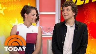 Kristen Stewart And Jesse Eisenberg Talk 'American Ultra' | TODAY