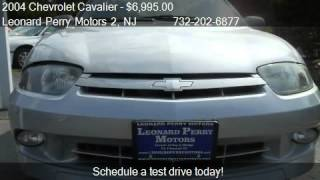 2004 Chevrolet Cavalier Ls Sport Sedan - For Sale In Brick,