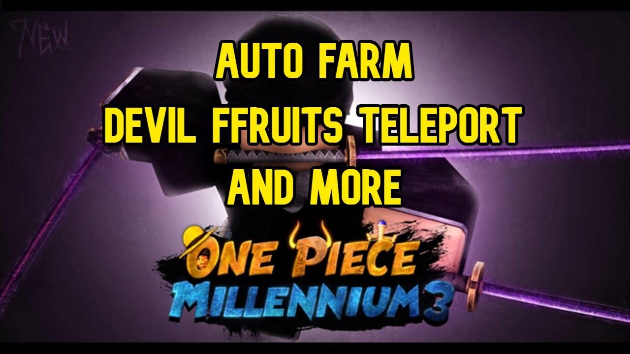 Roblox One Piece Millennium 3 Hack Script Auto Farm Tp Df And More Youtube