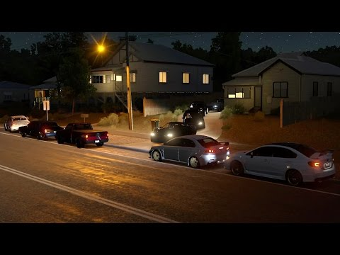 Forza Horizon 3 | Street Fighter Meet Pt.2 | Drag Racing w/ RS2, Volvo S60, Monte SS, Raptor & More