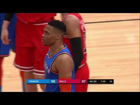 Russell Westbrook Posts 24 points, 13 assists & 17 rebounds vs  Chicago Bulls