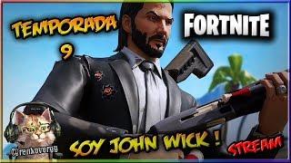 Fortnite 😺 🔴 Skin John Wick si vis pacem para bellum l 😹 RenkoverGG Gato Gamer