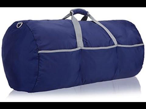 9a90d9a6fb Amazon basics Large Duffel bag - YouTube