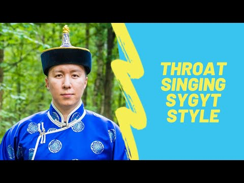 How to learn Tuvan throat singing. About sygyt style