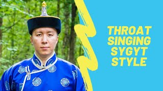 Mix - How to learn Tuvan throat singing. About sygyt style