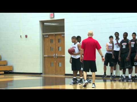 Master Your Close Outs and On Ball Defense With This Drill - 1 on 1 Wing Close Outs