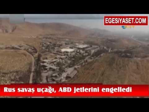 Rus Savaş Uçağı Türkiye'den Kalkan ABD Jetleri Geri Döndürdü