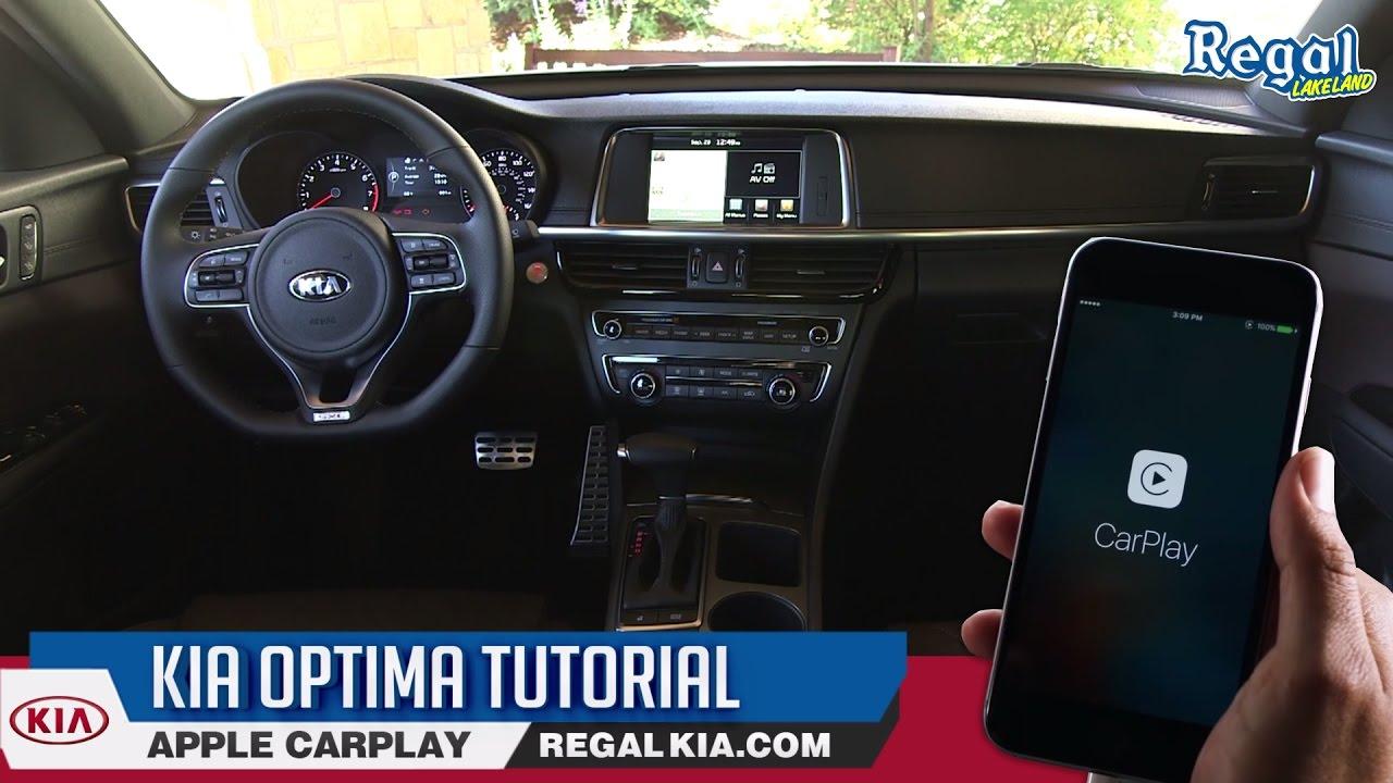 Kia Optima Tutorial How To Use Apple Carplay Youtube